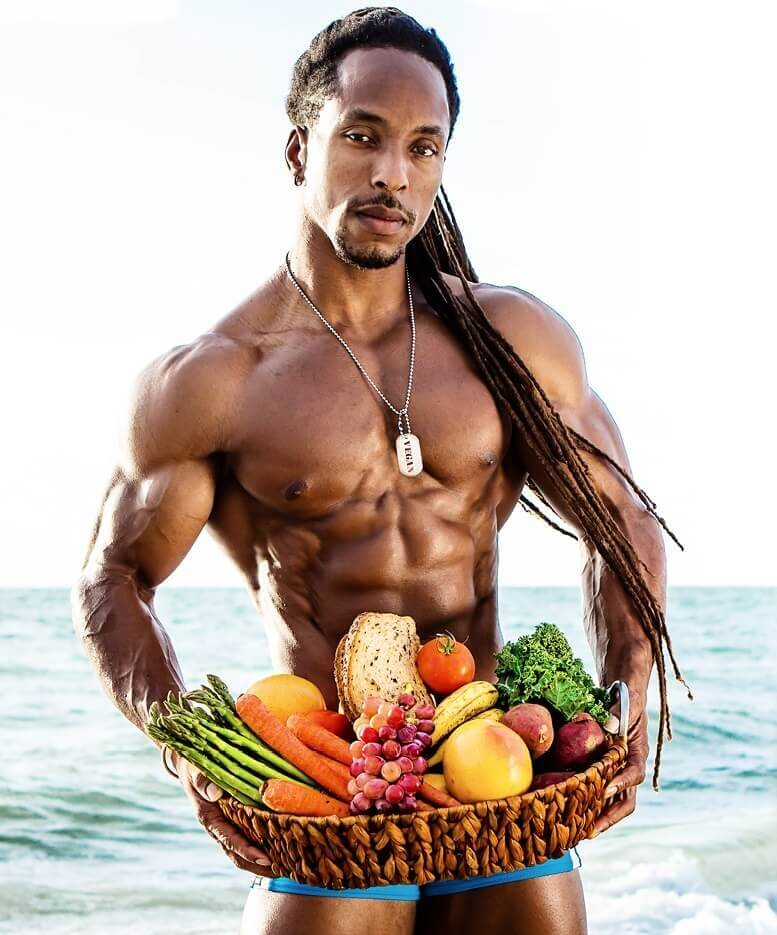 Image result for vegan bodybuilder